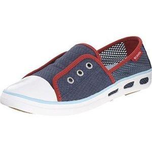 New Columbia Vulc N Vent Bombie Navy shoes 10